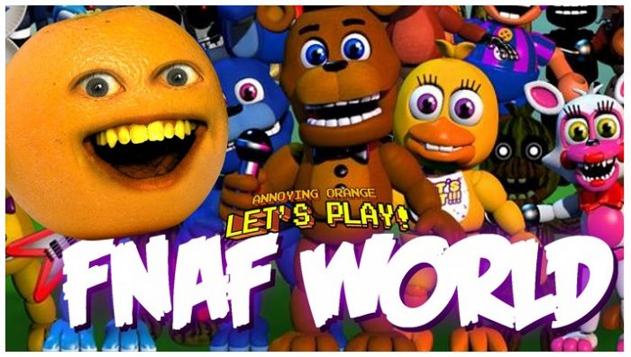FNaF World -Five Nights at Freddy World